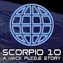 Scorpio 10:A Hack Puzzle Story icon