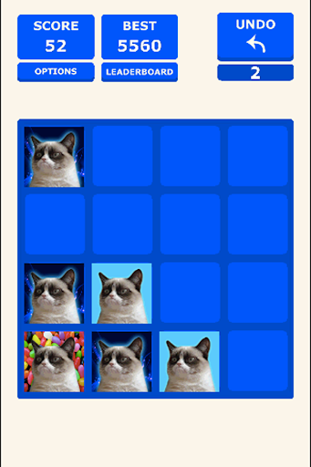 2048 Grumpy Cat version