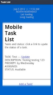 Mobile Task List- screenshot thumbnail