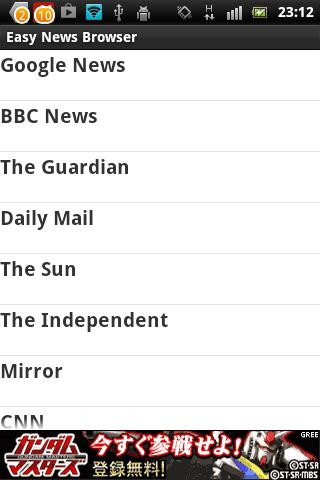 Easy News BBC CNN Sun Mirror