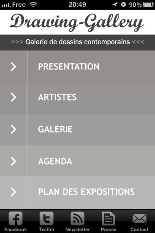 Drawing Gallery App