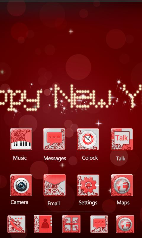 Happy New Year Theme - screenshot