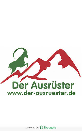 Ausrüster- Shop- App