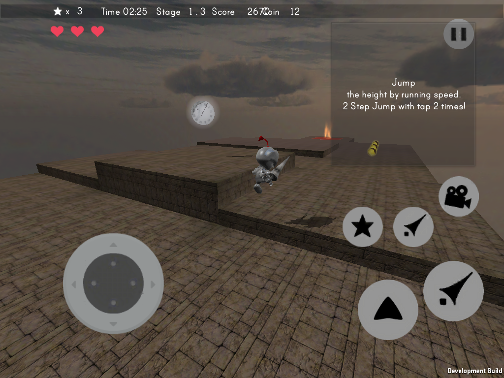 Lost Knight - 3D action- screenshot