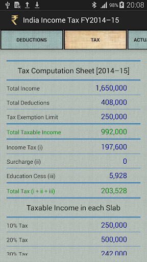 India Income Tax Calculator