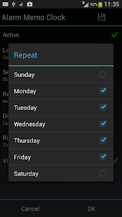 Alarm Memo Clock - screenshot thumbnail