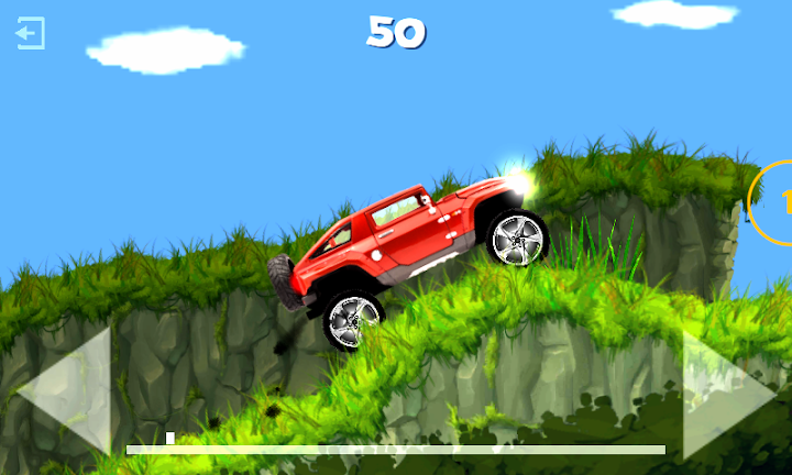 Exion Hill Racing Android App Screenshot