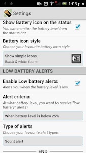 Intelligent Battery screenshot 1