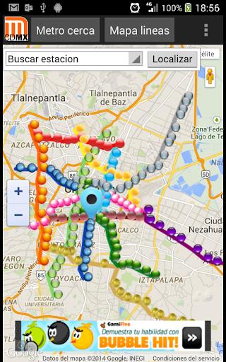Lineas del Metro DF CDMX  screenshots 3