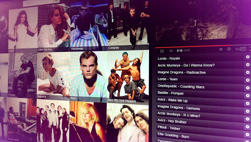 Video music playlist generator