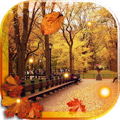 Autumn Streets live wallpaper