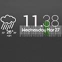 Cute Clock Weather - UCCW Skin icon