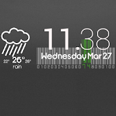 Cute Clock Weather - UCCW Skin