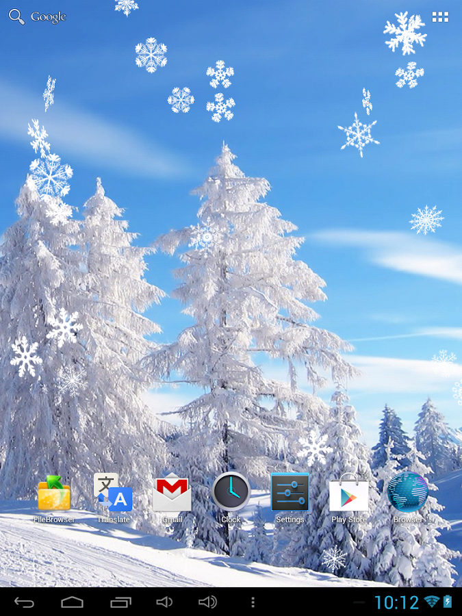 Snowfall Live Wallpaper - Android Apps on Google Play