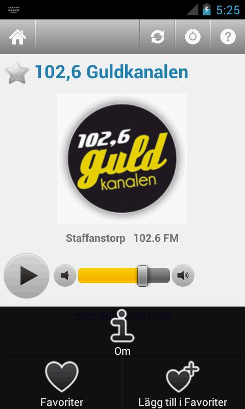 Svensk Radio (Sweden) - screenshot