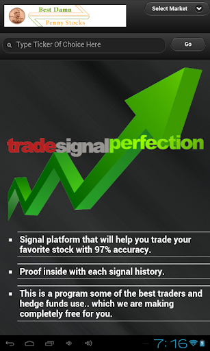 Trade Signal Perfection