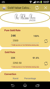 Gold Value Calculator screenshot 2
