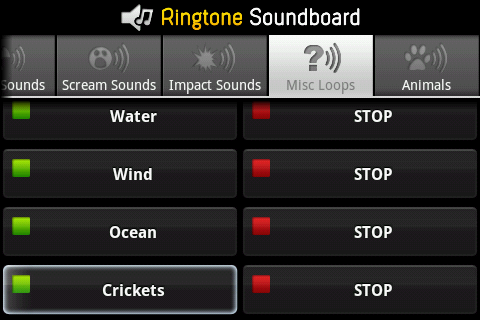 Ringtones Sound Effects - screenshot