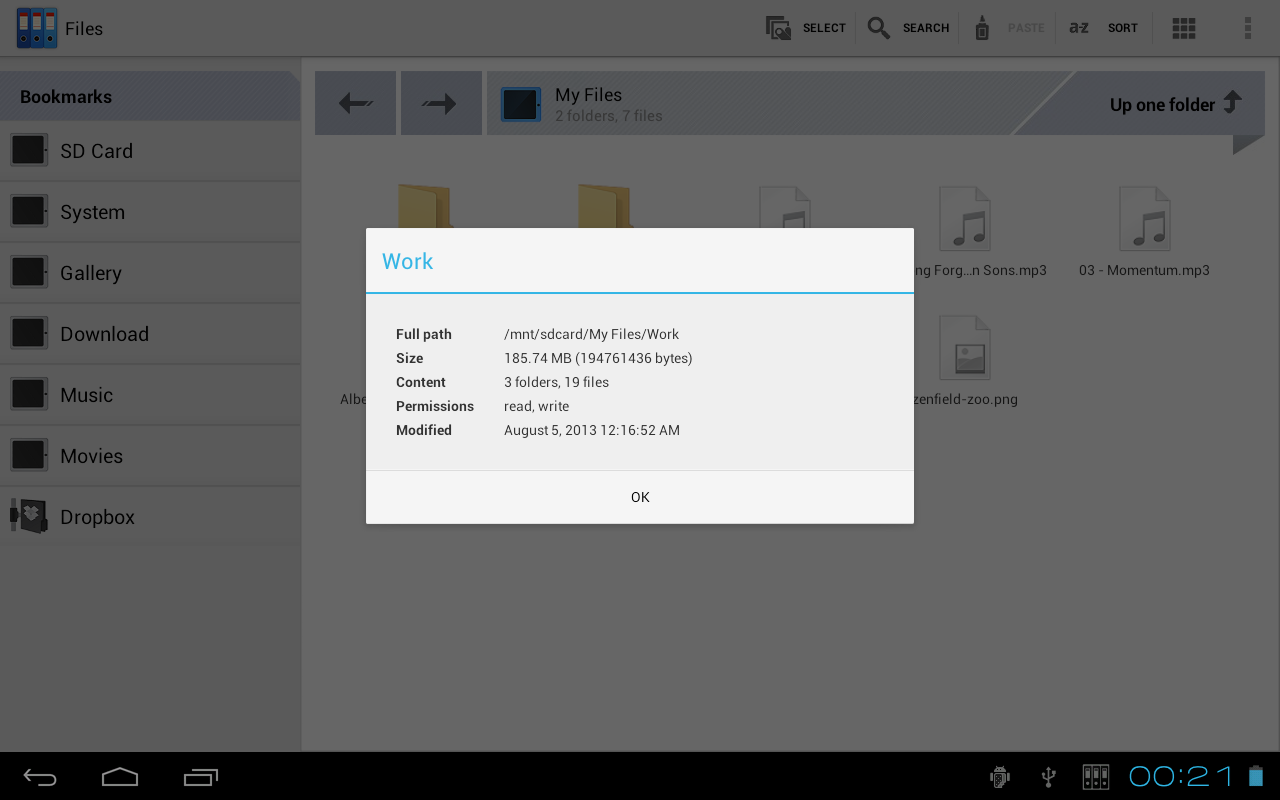 Zenfield File Manager Ads - screenshot