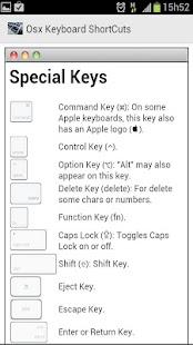 OSX鍵盤快捷鍵