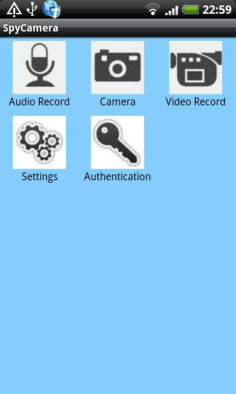 Hidden Camera Spy Camera free - screenshot