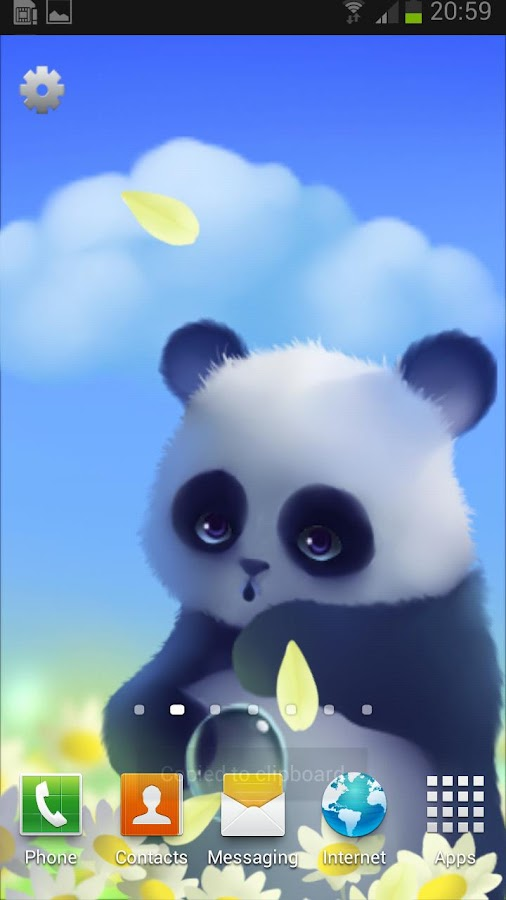 Panda - screenshot