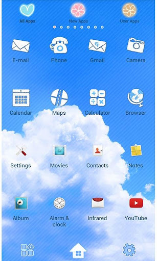 Cute Theme-Skywriter- 1.1 Windows u7528 2