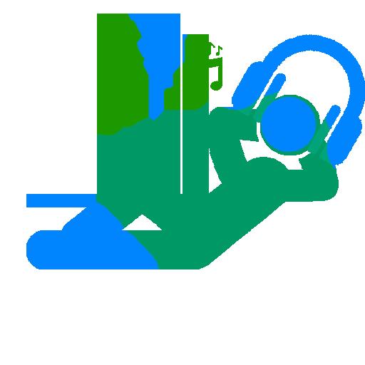 Relax Music Video LOGO-APP點子