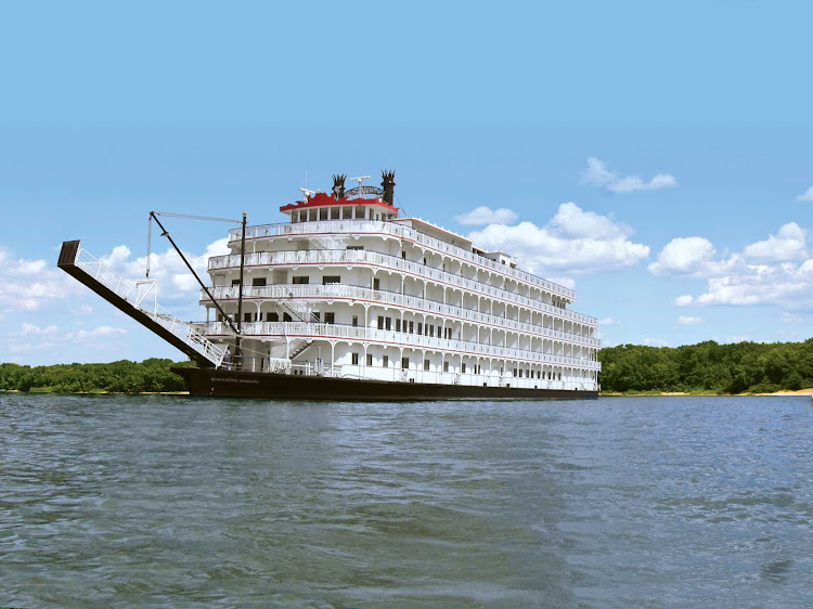 American Cruise Line's Queen of the Mississippi was inspired by traditional late 19th century Victorian riverboats yet is outfitted with modern amenities.