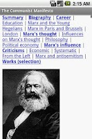 Screenshot of The Communist Manifesto