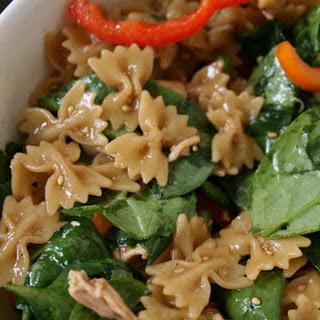 Asian Style Pasta Recipes.
