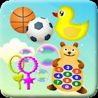 Niños Juguetes Juegos icon