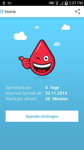Blutspende Ausweis