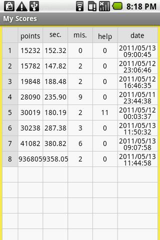 Reverse one-digit addition- screenshot