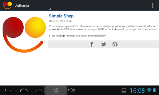 Simple Shop- screenshot thumbnail