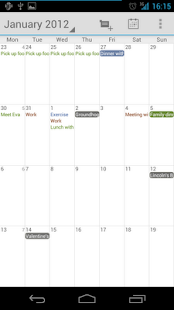 Calendar Droid Free- screenshot thumbnail