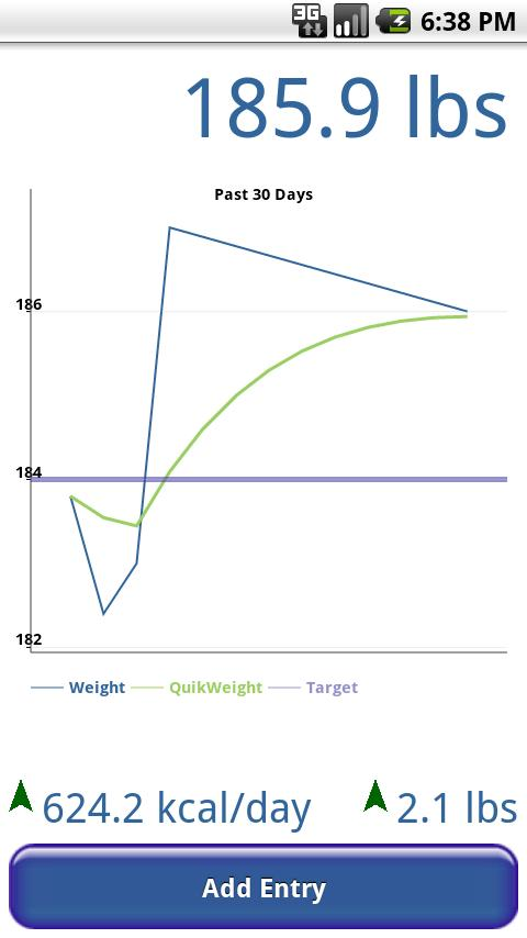 QuikWeight - screenshot