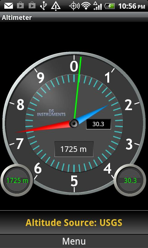 DS Altimeter - screenshot