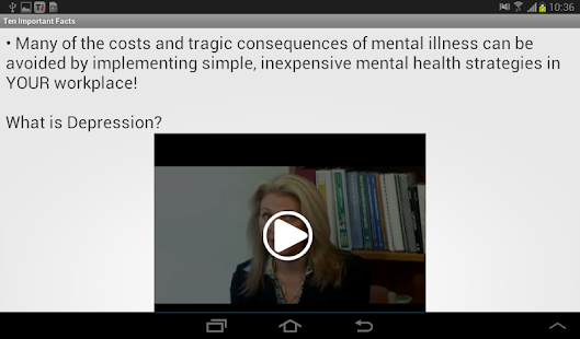 Mental Health At Work- screenshot thumbnail