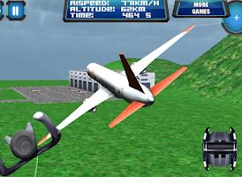 Screenshot of 3D Plane Flight Fly Simulator