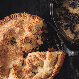 Old-Fashioned Mixed-Apple Pie.