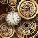 FREE Gold Clock Live Wallpaper