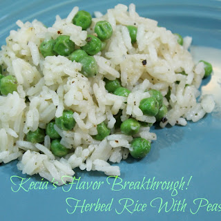 Herbed Rice With Peas!.