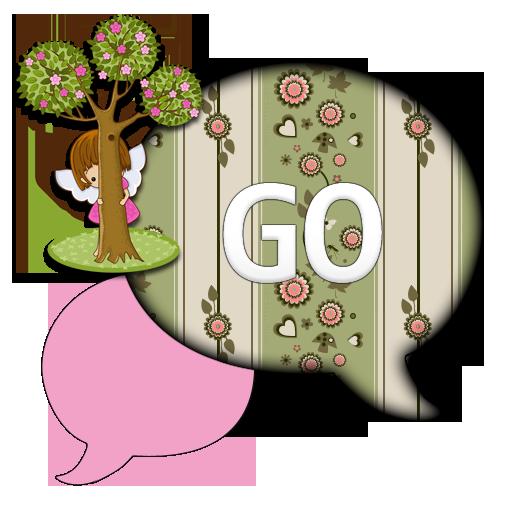 FlowerAngel/GO SMS THEME LOGO-APP點子