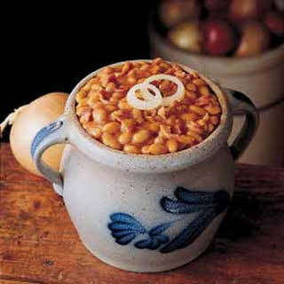 Maple Baked Beans.