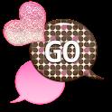 GO SMS - Sparkling Hearts 3 icon