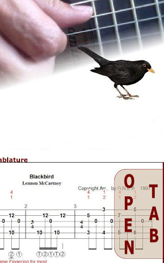 Blackbird for Guitar