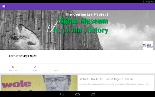 The Centenary Project- screenshot thumbnail