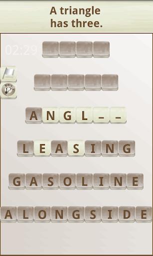 Word Scramble 1.18 screenshots 2