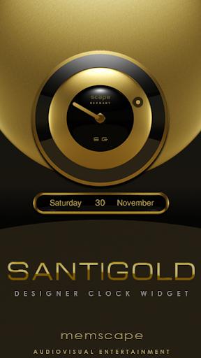SANTIGOLD Clock Widget